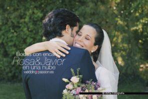 Bodas con encanto, Rosa y Javier en una nube