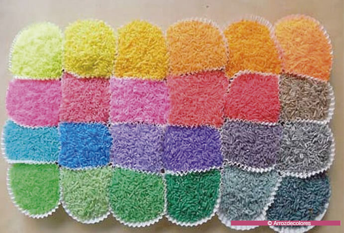 DIY-arroz-de-colores boda 691 x 469