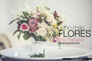 Flores para bodas de María Salazar