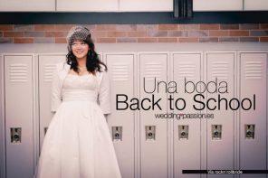 Temáticas de bodas, Una boda Back to School