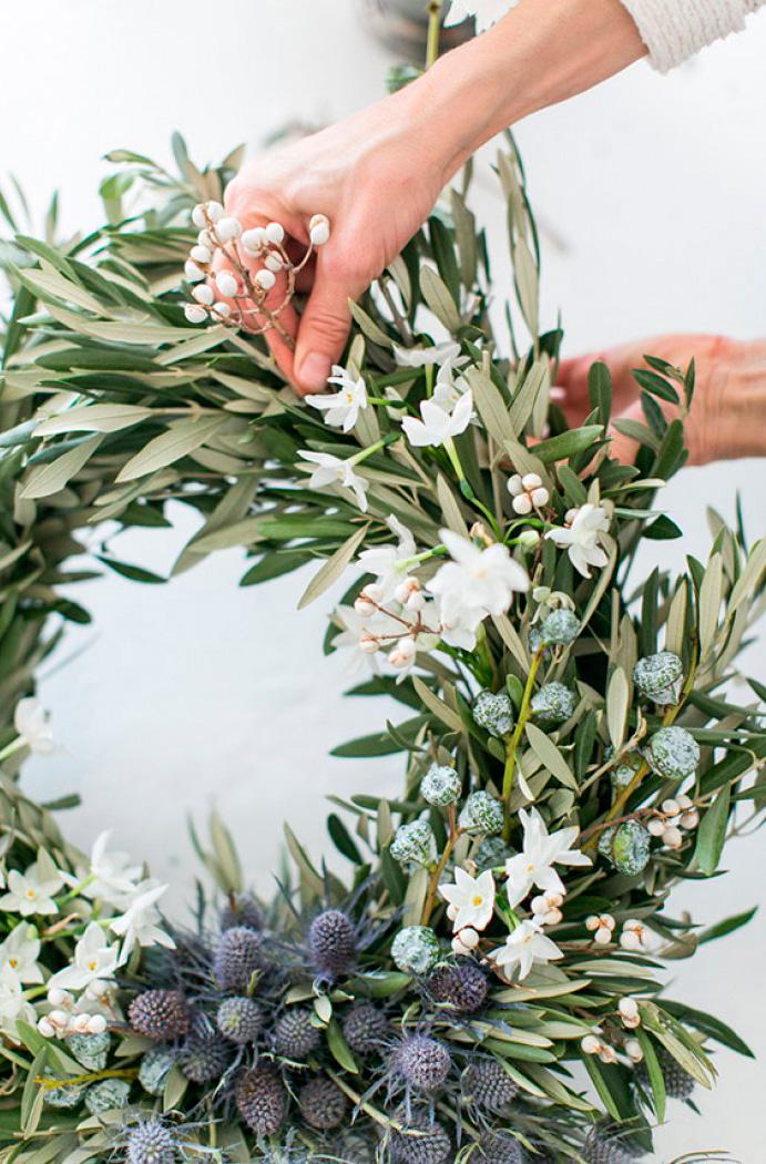 Flores secas decoraci n decora tu boda con olivo - Plantas secas decoracion ...
