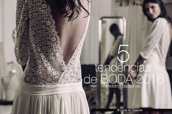 5 Tendencias de boda 2016
