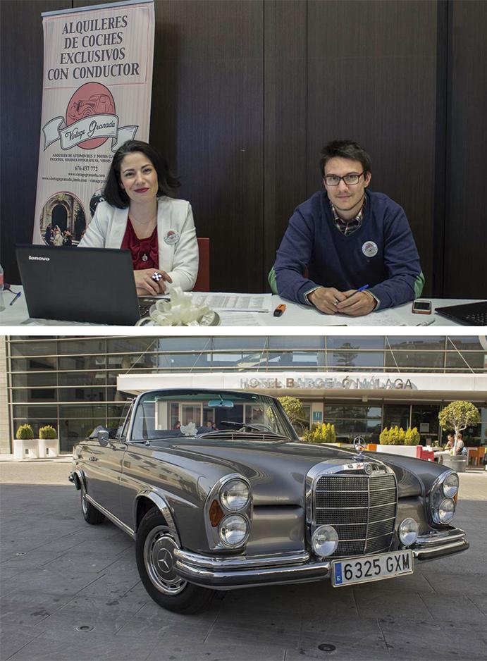 coche de alquiler vintage-granada