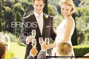 Brindis boda, un brindis para los novios