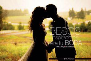 Besos de boda que te inspirarán