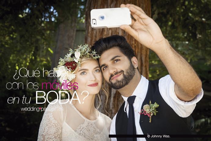 Qué hacer con los móviles en tu boda
