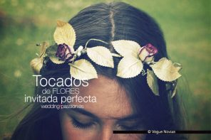 Tocados de flores, la invitada perfecta con flores