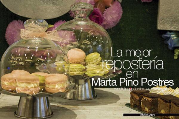 La mejor repostería en Marta Pino Postres