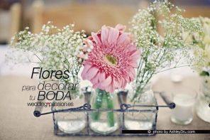 Flores para decorar tu boda en primavera