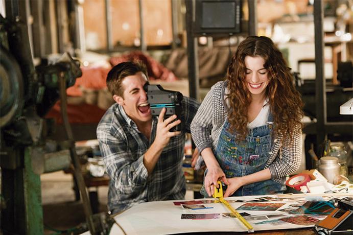 Enamorados 6 momentos que enamoran www.weddingpassion.es-pareja-feliz-vía-pinterest 691 x 460