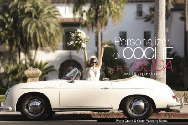 Decoración coche boda 691 x 460