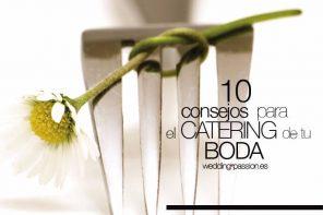 Menu banquetes,10 consejos para el catering.