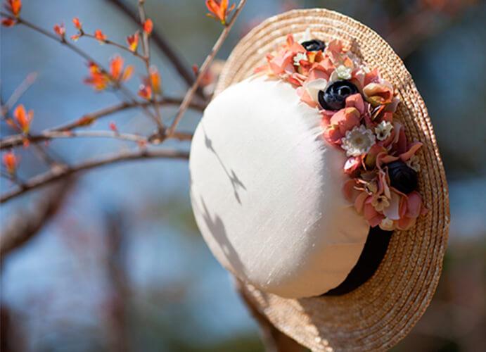 sombrero canotier para boda 691 x 500