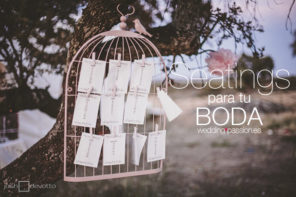 Seating plan boda, ideas originales