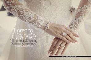Lorenzo Caprile, las Claves para un Vestido de Boda
