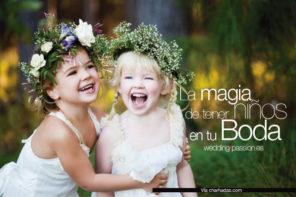 Niños en bodas, la magia de tener niños en tu boda