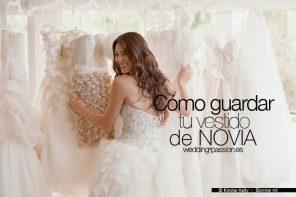 Cómo guardar un vestido de novia