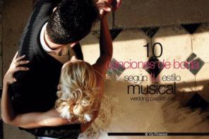 10 canciones de boda según tu estilo musical
