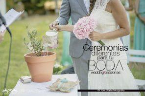 Ceremonias de boda diferentes para tu boda