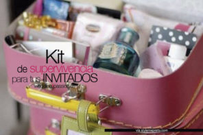 Kit supervivencia boda para tus invitados