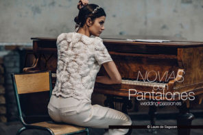 Pantalones novia, Novias con pantalones