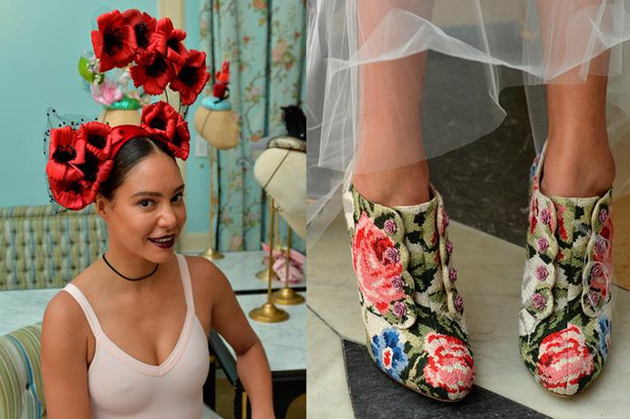 tocados-de-alta-costura-como-deslumbrar-con-el-complemento-mas-atrevido-via-zimbio-nyfw-16 zapatos estampados-weddingpassion-es-691-x 460.jpg