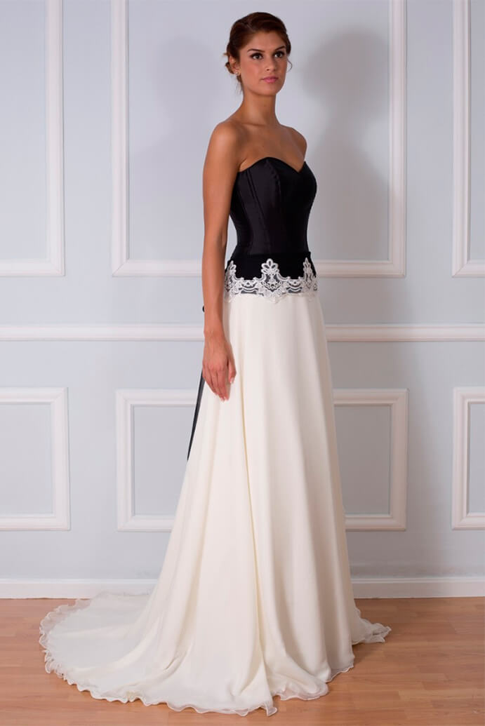 vestidos-de-novia-blanco-con-negro-691x1035