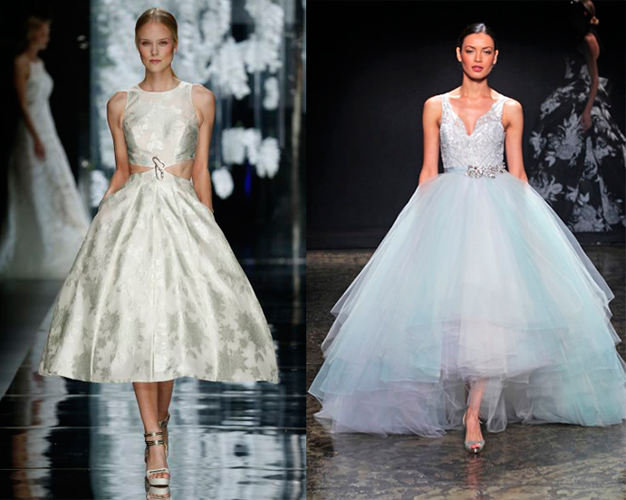 yo me caso con vestido corto de novia www-weddingpassion-es-lazaro-yolan-cris-691x460
