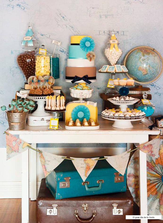 Ideas boda mesa de dulces 691 x 947