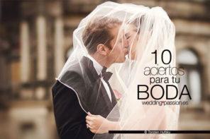 Cómo organizar una boda, 10 aciertos para tu boda