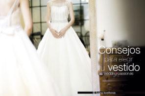 Elegir vestido de novia, todos los consejos