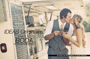 Ideas originales para bodas, tu boda