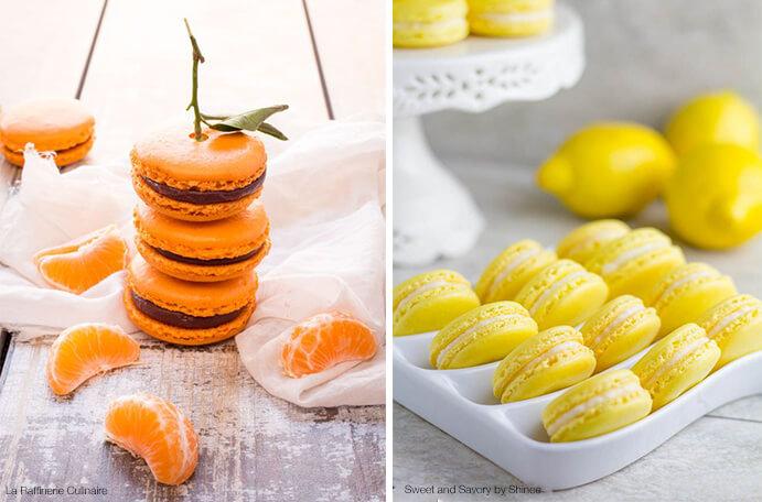 macarons naranja y limón 691 x 456