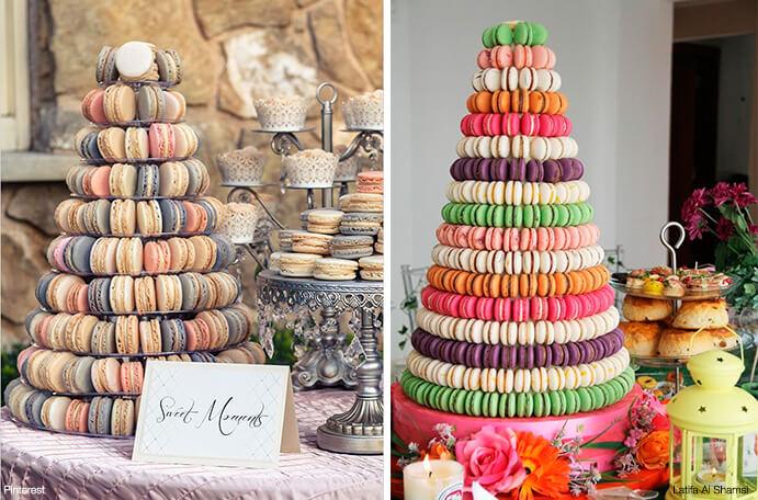 tarta nupcial macarons 691 x 456
