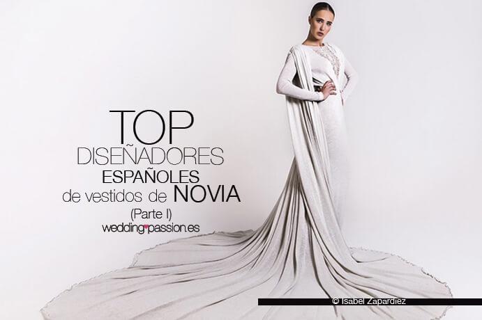 diseñadores españoles de vestidos de novia parte i - wedding passion