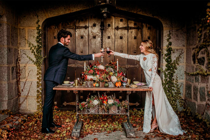 vestirse juntos el día de la boda