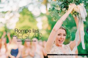 Tradiciones de bodas, Rompe las reglas
