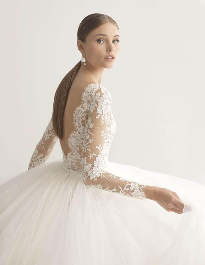 Vestidos De Novia Espalda Descubierta Wedding Passion