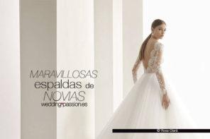 Vestidos de novia espalda descubierta