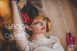 Boda temática, una boda de cabaret