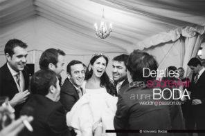 Cosas de boda, 6 Detalles para sobrevivir a una boda