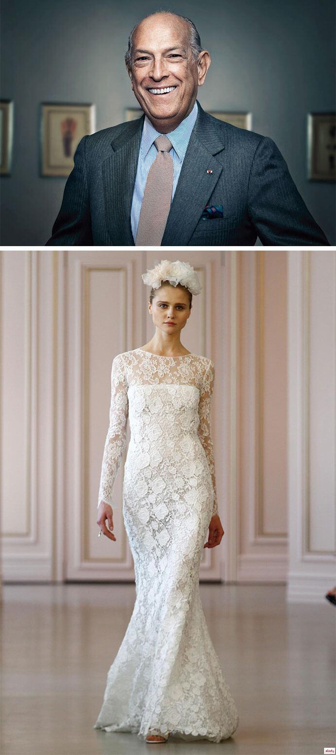 vestidos de novia oscar de la renta 691 x 1552