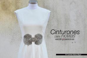 Cinturones novia, adornos y complementos para tu cintura