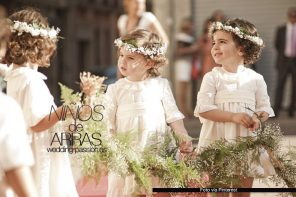 Niños de arras, pajes y damitas para tu boda