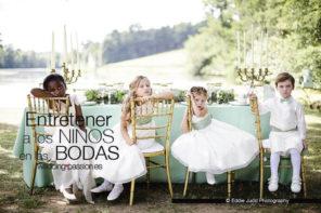 Animación infantil para bodas, entretener a los niños