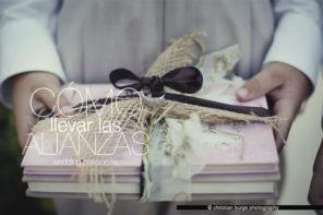 Porta alianzas, cómo llevar las alianzas en una boda