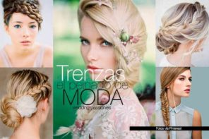 Trenzas para bodas, el peinado de moda, el top 10