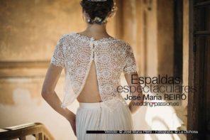 Vestidos de novia con espaldas espectaculares