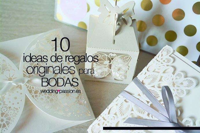 10 ideas de regalos originales para bodas